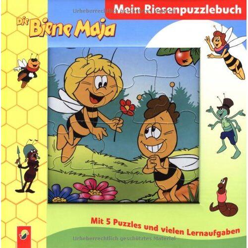 - Die Biene Maja - Mein Riesenpuzzlebuch. Mit 5 Puzzles und vielen Lernaufgaben - Preis vom 23.01.2021 06:00:26 h