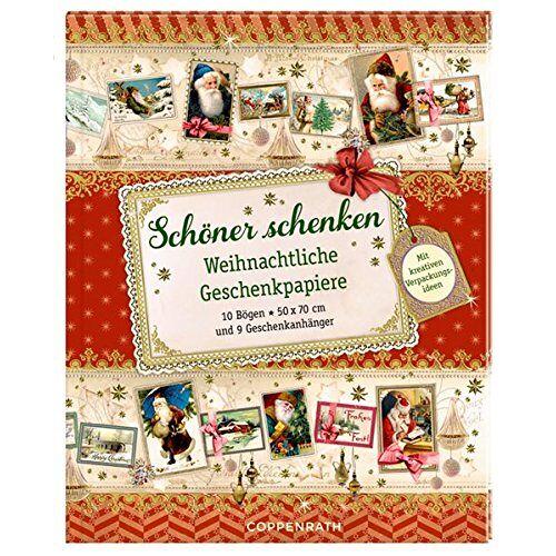 - Geschenkpapier-Buch - Schöner schenken: Weihnachtliche Geschenkpapiere - Preis vom 18.10.2020 04:52:00 h