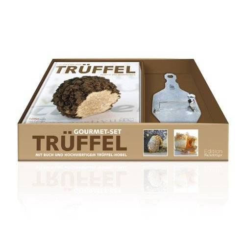Ralf Bos - Gourmet-Set Trüffel- Hanbuch mit Trüffelhobel - Preis vom 29.05.2020 05:02:42 h