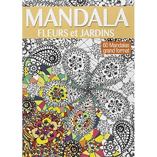 Charlotte Legris - Mandala fleurs et jardins - Preis vom 21.10.2020 04:49:09 h