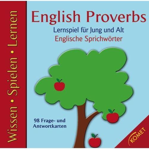 - English Proverbs: Englische Sprichwörter. Lernspiel für Jung und Alt - Preis vom 03.12.2020 05:57:36 h