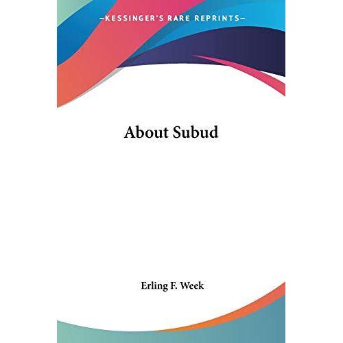 Week, Erling F. - About Subud - Preis vom 06.03.2021 05:55:44 h