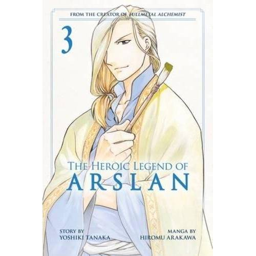 Yoshiki Tanaka - The Heroic Legend of Arslan 3 (Heroic Legend of Arslan, The) - Preis vom 20.10.2020 04:55:35 h