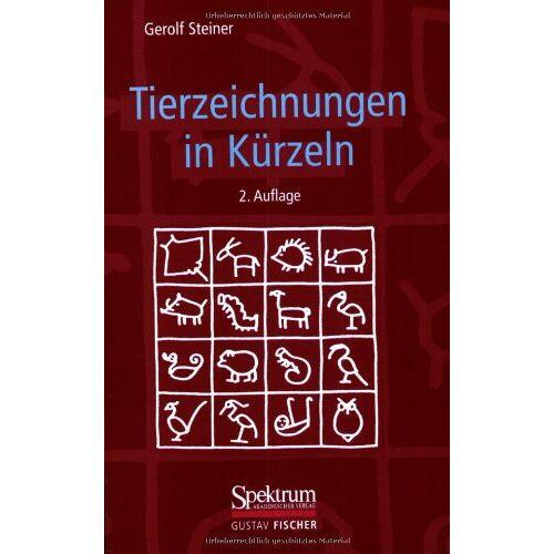 Gerolf Steiner - Tierzeichnungen in Kürzeln - Preis vom 28.02.2021 06:03:40 h
