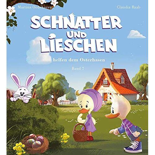 Claudia Raab - Schnatter and Lieschen helfen dem Osterhasen (Inkl. CD) (Schnatter und Lieschen) - Preis vom 08.05.2021 04:52:27 h