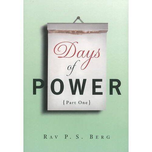 Yehuda Berg - Days of Power: Pt. 1 - Preis vom 14.04.2021 04:53:30 h