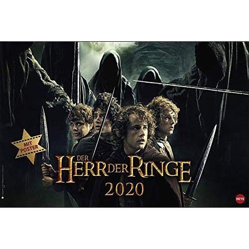 Heye - Der Herr der Ringe Broschur XL 2020 45x30cm - Preis vom 01.12.2020 06:01:16 h