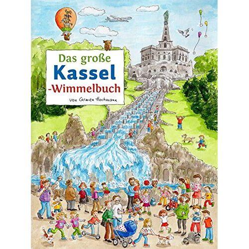 Roland Siekmann - Das große KASSEL-Wimmelbuch (Städte-Wimmelbücher) - Preis vom 20.09.2020 04:49:10 h