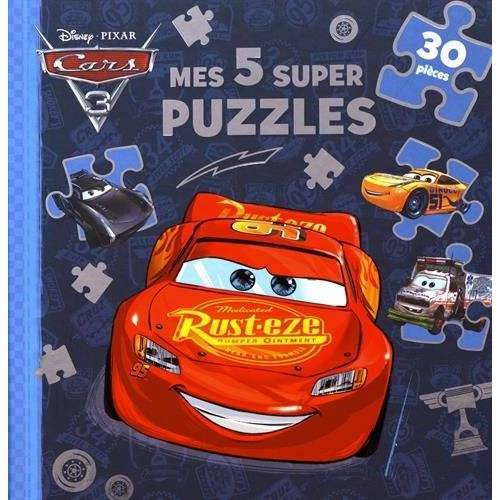 - Mes 5 super puzzles Cars 3 - Preis vom 01.03.2021 06:00:22 h