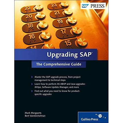 Mark Mergaerts - Upgrading SAP: The Comprehensive Guide (SAP PRESS: englisch) - Preis vom 21.10.2020 04:49:09 h