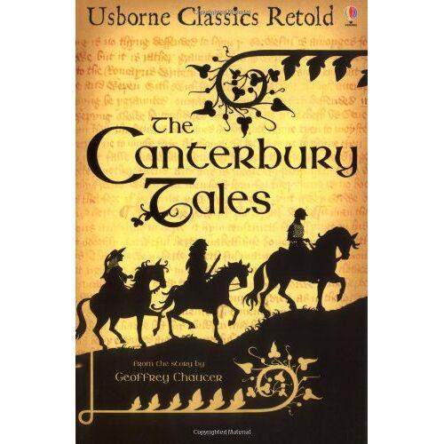 Geoffrey Chaucer - Canterbury Tales (Usborne Classics Retold) - Preis vom 12.05.2021 04:50:50 h