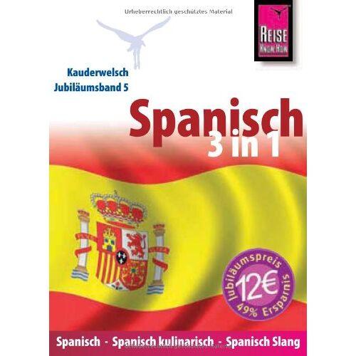 Som, O'Niel V. - Spanisch 3 in 1: Spanisch-Spanisch kulinarisch-Spanisch Slang - Preis vom 24.02.2021 06:00:20 h