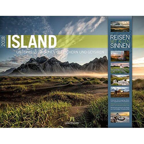Ackermann Kunstverlag - Island 2018 (Reisen mit allen Sinnen) - Preis vom 09.04.2020 04:56:59 h