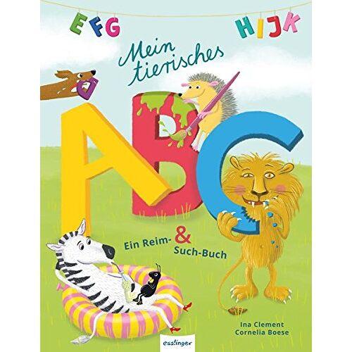 Cornelia Boese - Mein tierisches ABC: Ein Reim- & Such-Buch - Preis vom 12.05.2021 04:50:50 h