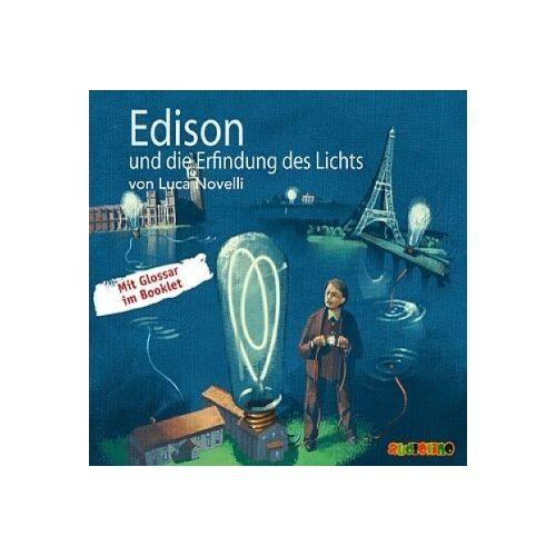 Luca Novelli - Edison und die Erfindung des Lichts CD: Geniale Denker und Erfinder - Preis vom 11.05.2021 04:49:30 h