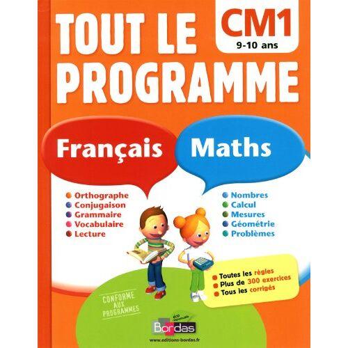 Ginette Grandcoin-Joly - Tout le programme Français-Maths CM1 - Preis vom 10.05.2021 04:48:42 h