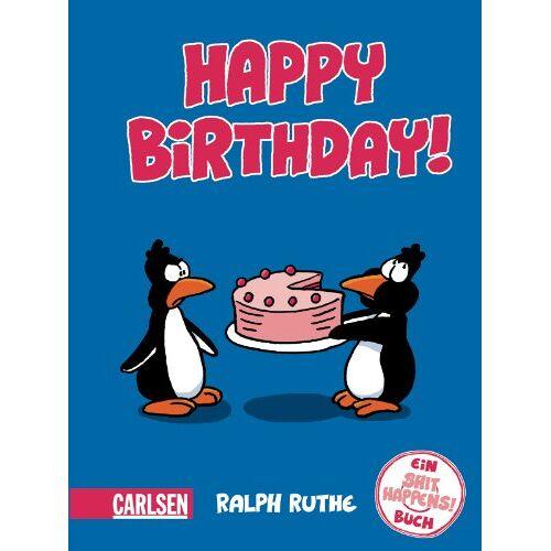 Ralph Ruthe - Shit happens!: Happy Birthday!: Ein Shit happens!-Buch - Preis vom 11.05.2021 04:49:30 h