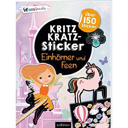 - Kritzkratz-Sticker Einhörner und Feen: Mit über 150 Stickern - Preis vom 21.10.2020 04:49:09 h