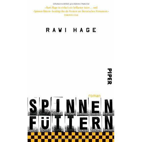 Rawi Hage - Spinnen füttern: Roman - Preis vom 21.10.2020 04:49:09 h