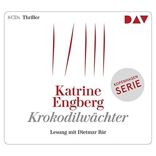 Katrine Engberg - Krokodilwächter. Ein Kopenhagen-Thriller: Lesung mit Dietmar Bär (8 CDs) - Preis vom 21.01.2020 05:59:58 h