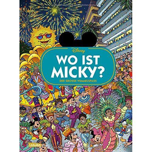 Walt Disney - Disney: Wo ist Micky? – Wimmelbuch mit Micky Maus: Der große Wimmelspaß (Wimmelbuch) - Preis vom 20.09.2020 04:49:10 h