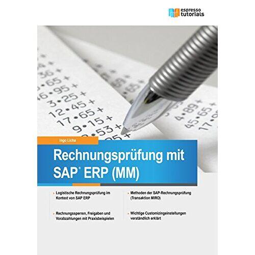 Ingo Licha - Rechnungsprüfung mit SAP ERP (MM) - Preis vom 23.01.2021 06:00:26 h