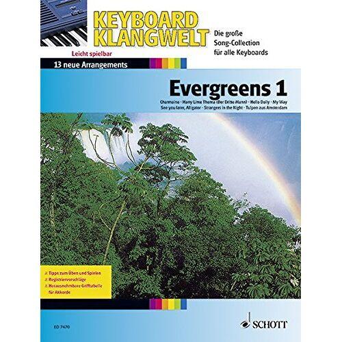 Steve Boarder - Evergreens 1: 13 neue Arrangements. Keyboard. (Keyboard Klangwelt) - Preis vom 16.04.2021 04:54:32 h
