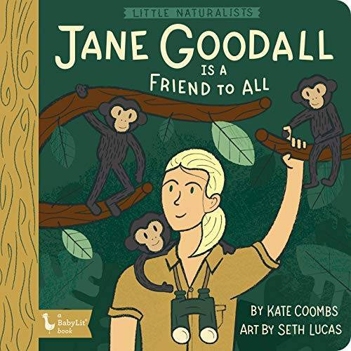 Kate Coombs - Coombs, K: Little Naturalists Jane Goodall and the Chimpanze - Preis vom 17.04.2021 04:51:59 h