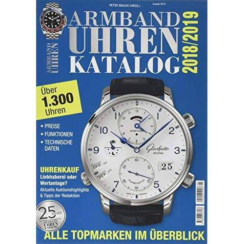 Peter Braun - Armbanduhren Katalog 2018 - Preis vom 23.02.2020 05:59:53 h