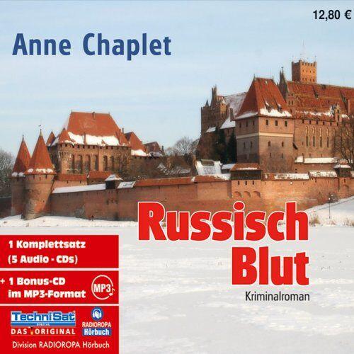 Anne Chaplet - Russisch Blut. 5 CDs + mp3-CD - Preis vom 28.02.2021 06:03:40 h