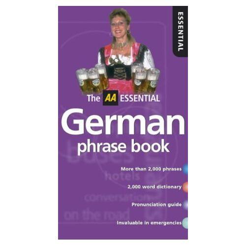 - AA Essential German Phrasebook (AA Essential Phrase Book S.) - Preis vom 16.10.2020 04:56:20 h