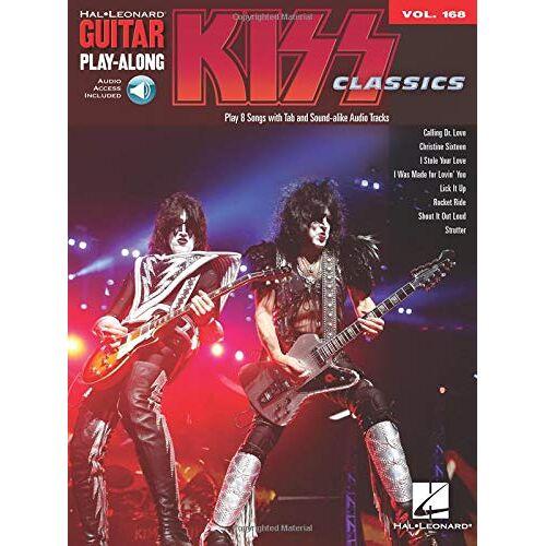 Kiss - Guitar Play-Along Volume 168: Kiss: Noten, Play-Along für Gitarre - Preis vom 25.01.2021 05:57:21 h