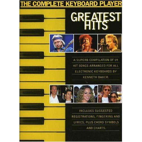 - The Complete Keyboard Player: Greatest Hits: Noten, Sammelband für Keyboard, Gesang, Gitarre - Preis vom 27.02.2021 06:04:24 h