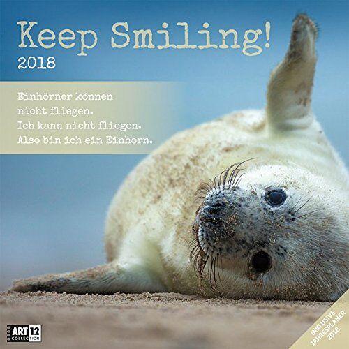 Ackermann Kunstverlag - Keep Smiling 30x30 2018 - Preis vom 05.08.2019 06:12:28 h