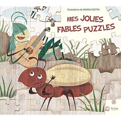 - Mes jolies fables puzzles : 5 puzzles de 56 pièces - Preis vom 07.04.2021 04:49:18 h