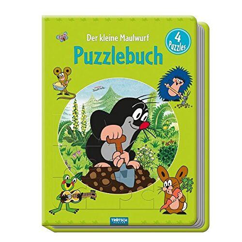 Trötsch Verlag - Puzzlebuch Der kleine Maulwurf: 4 Puzzles - Preis vom 28.02.2021 06:03:40 h