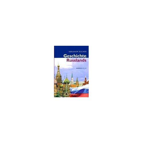 Abraham Ascher - Geschichte Russlands - Preis vom 24.02.2021 06:00:20 h