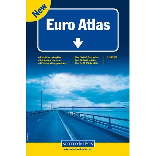 Kümmerly + Frey - K+F Euro Atlas 1 : 900.000 (Kümmerly+Frey Atlanten) - Preis vom 07.09.2020 04:53:03 h