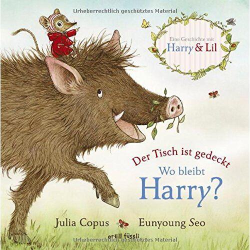 Julia Copus - Der Tisch ist gedeckt - Wo bleibt Harry?: Eine Harry & Lili-Geschichte - Preis vom 21.10.2020 04:49:09 h