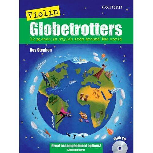 Ros Stephen - Violin Globetrotters + CD (Globetrotters for strings) - Preis vom 06.09.2020 04:54:28 h