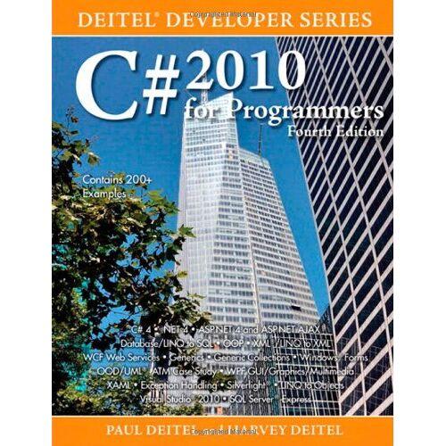 Deitel, Paul J. - C# 2010 for Programmers (Deitel Developer) - Preis vom 12.05.2021 04:50:50 h