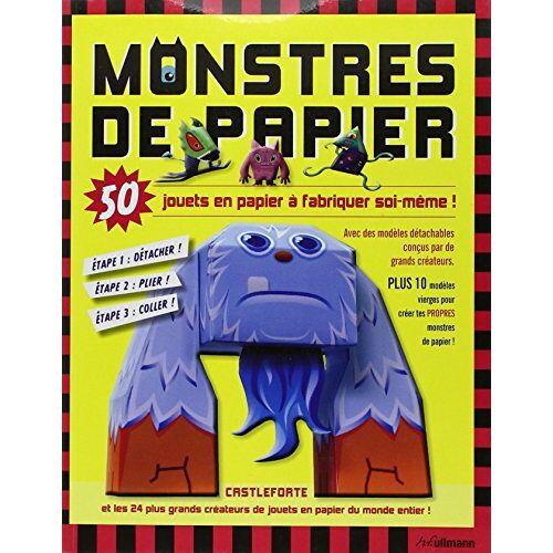 Brian Castleforte - Monstres de papier : 50 jouets en papier à fabriquer soi-même - Preis vom 05.09.2020 04:49:05 h