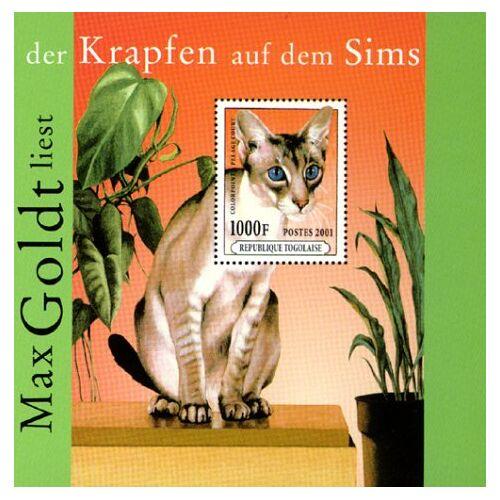 Max Goldt - Der Krapfen auf dem Sims. 2 CDs - Preis vom 20.10.2020 04:55:35 h