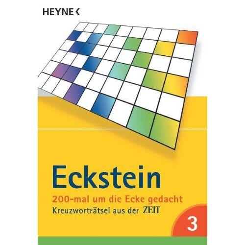 Eckstein - 200-mal um die Ecke gedacht Bd. 3: Kreuzworträtsel aus der ZEIT: Kreuzworträtsel aus der Zeit.. Gehirnakrobatik - Preis vom 04.09.2020 04:54:27 h