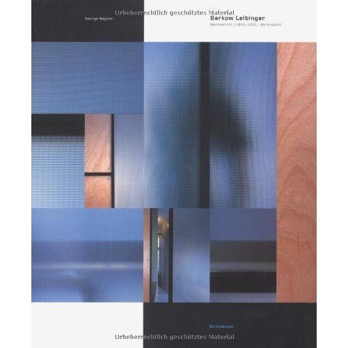 George Wagner - Barkow Leibinger: Work Report 1992-2000 - Preis vom 21.10.2020 04:49:09 h