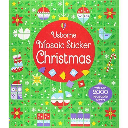 Kirsteen Robson - Mosaic Sticker Christmas (Mosaic Sticker Books) - Preis vom 24.02.2021 06:00:20 h