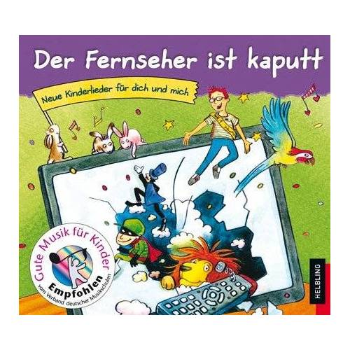 - Der Fernseher ist kaputt (Lieder-CD) - Preis vom 06.09.2020 04:54:28 h
