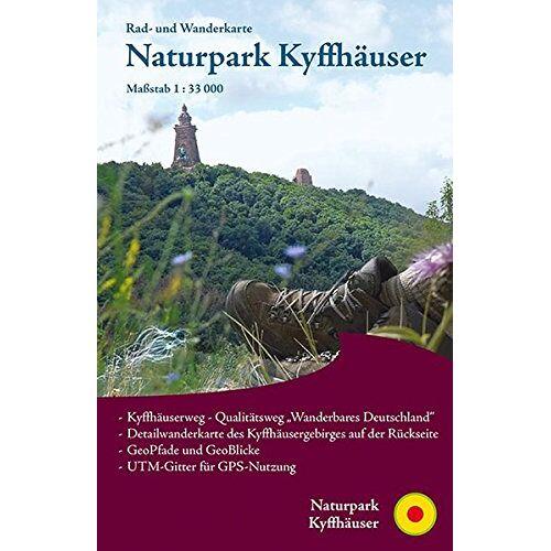 - Naturpark Kyffhäuser: Rad- und Wanderkarte mit Detailkarte rund um den Kyffhäuser - Preis vom 06.09.2020 04:54:28 h