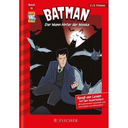 Michael Dahl - Batman 10: Der Mann hinter der Maske: Fischer. Nur für Jungs - Preis vom 13.05.2021 04:51:36 h