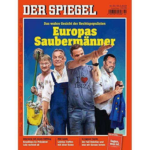 Der Spiegel - Der Spiegel 22/2019 Europas Saubermänner - Preis vom 18.10.2020 04:52:00 h